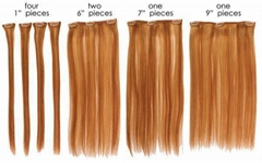 cheap!!!!!best quality  100% remy indian human hair clips hair weave/weft
