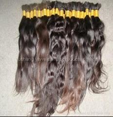 TOP QUALITY WHOLESALE PRICE 100% VIRGIN NATURE BRAID BULK HAIR