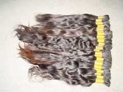 nature color 100% PURE virgin nature hair /nature curly hair.