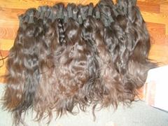 virgin nature human hair