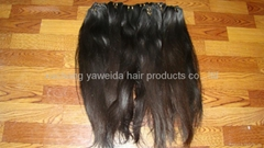 top quality pure 100% virgin nature weft/weave