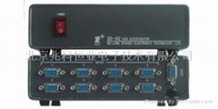 8路計算機信號分配器