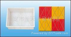 菱形彩磚模盒