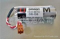 原装进口东芝PLC锂电池OMRON cs1w-bat01