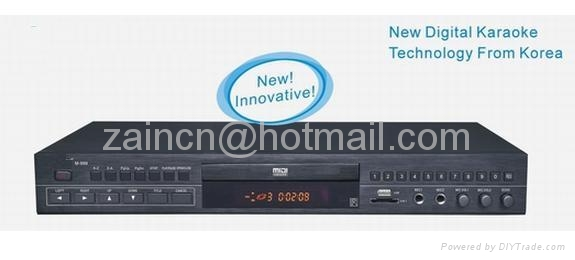 MIDI DVD  /VCD /CD/mp3/mp4   KARAOKE PLAYER 999 1