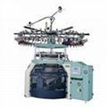 Electronic jacquard terry machine