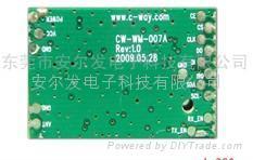 帶MCU的數據收發模塊,可支持RS232、USB接口