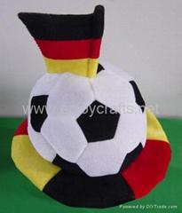 football fan hat