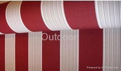 100% woven acrylic fabric