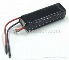 3串1并 11.1V 2300mAh锂聚合物电池组