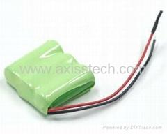 3S1P 3.6V 300mAh NiMH Battery Pack