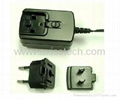 10W 5V 2A Adaptor with interchangeable plug