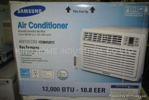 New samsung aw12ecb8 12000 btu window air conditioner for 12000 btu window air conditioner room size