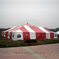 80'X80'(24MX24M) Pole Tent