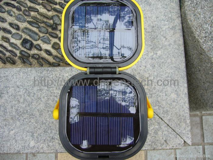 solar LED camping lantern 4