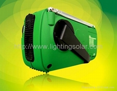 solar radio with LED light & Multi Charger