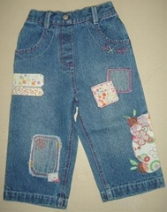 baby girl denim pants