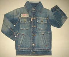 boy's denim jacket