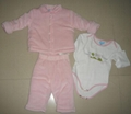 baby girl's 3pcs set