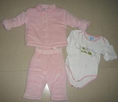 baby girl's 3pcs set