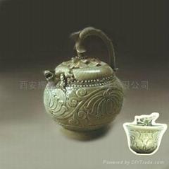 倒流壺耀州瓷中國特色禮品