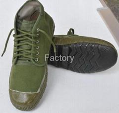 Hight cut rubber canvas shoesItem