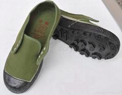 Low cut improved non-slip canvas shoes