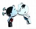 金属情侣钥匙扣 1