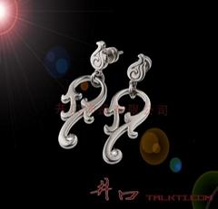 純鈦耳環/不鏽鋼耳環