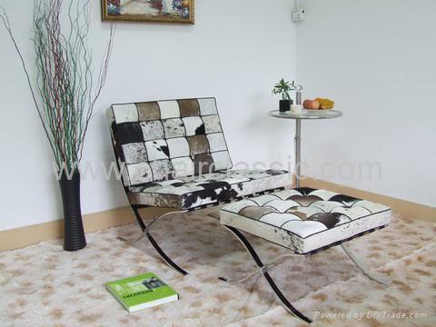 Barcelona Chair And Ottoman 1