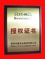 深圳鈦金牌
