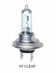 Auto Halogen Bulbs H7 Clear