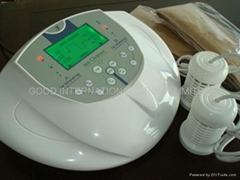 Detox foot spa with dual massage belt