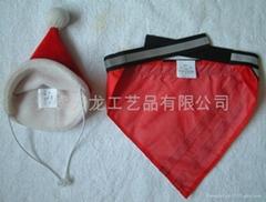 寵物聖誕帽、聖誕頭巾