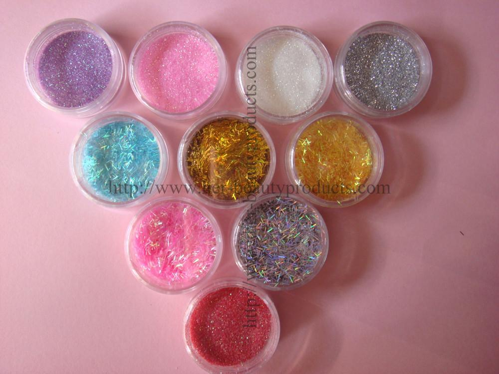 Glitter Powder In Bulk Jars For Nail Art 1