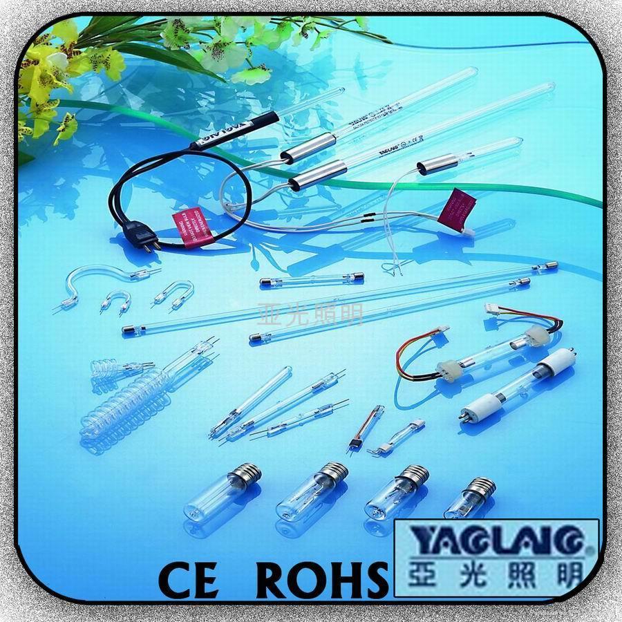 石英紫外線殺菌燈管(T型) 2