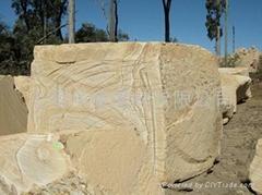 澳洲砂岩荒料/板材