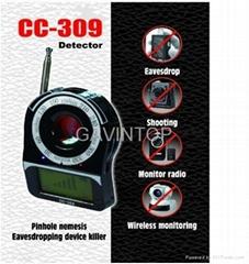 Bug camera detector