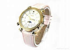 Woman 4GB HD MP3 Watch Camera