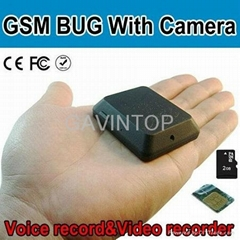 GSM Bug with camera