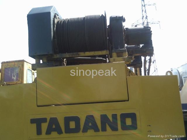 used truck crane Tadano TG500E 50 ton crane 3