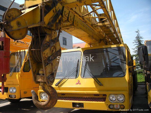 used truck crane Tadano TG500E 50 ton crane 1