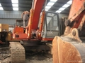 used hitachi EX200 crawler excavator