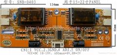 四燈高壓板用於15-22寸顯示器或液晶電視機