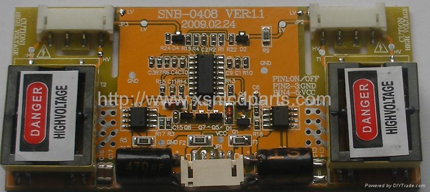 四灯高压板用于15-22寸显示器或液晶电视机 4