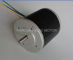 Dia.92 X 92mm BLDC Motor