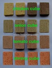 vegetables soup cube