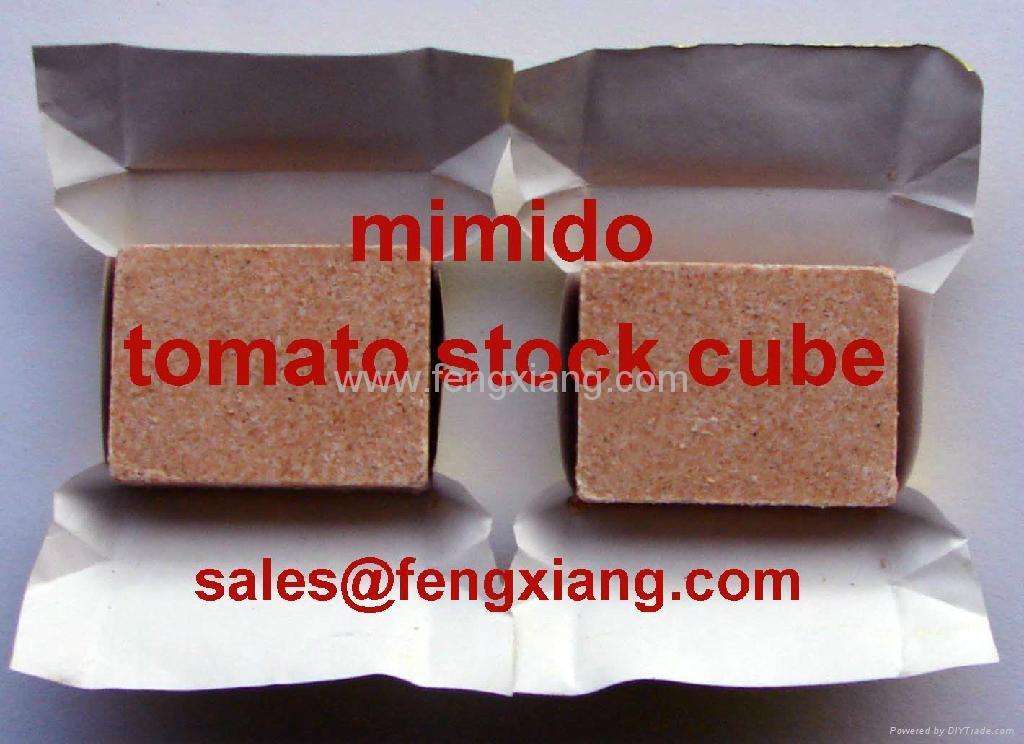 tomato soup(stock) cube 1