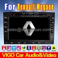 Renault Megane Car DVD GPS Stereo Sat Nav with Touch screen/Radio/TV/PIP