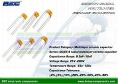 Radial Multilayer Ceramic Capacitor